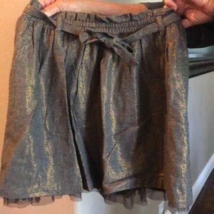 Girls herringbone skirt